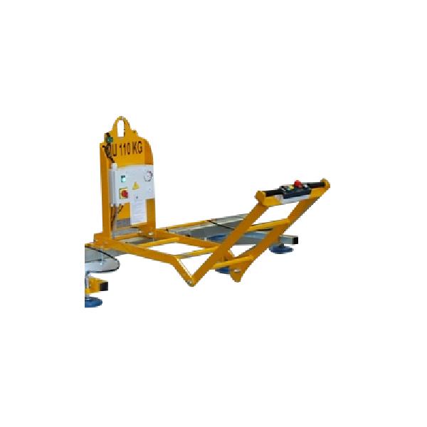 Brancard articulé - palonnier ventouse