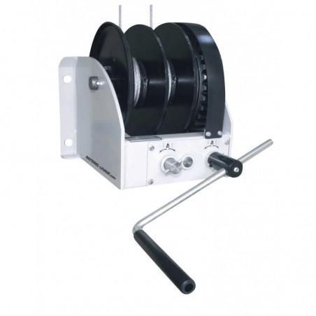 Treuil de levage 2 vitesses à tambour double