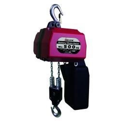 Palan à chaîne à batterie - 2 brins