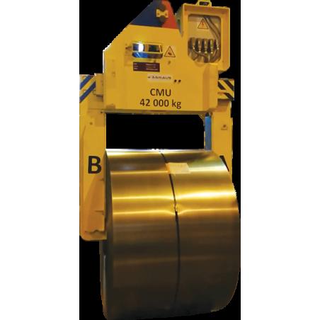 Pince à bobine automatique à sabots escamotables