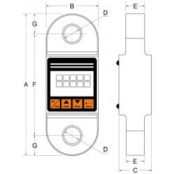 Dynamomètre électronique type 04 - schéma