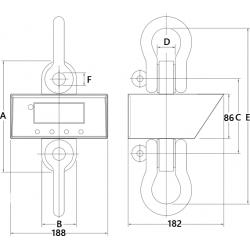 Dynamomètre électronique type 05 - schéma