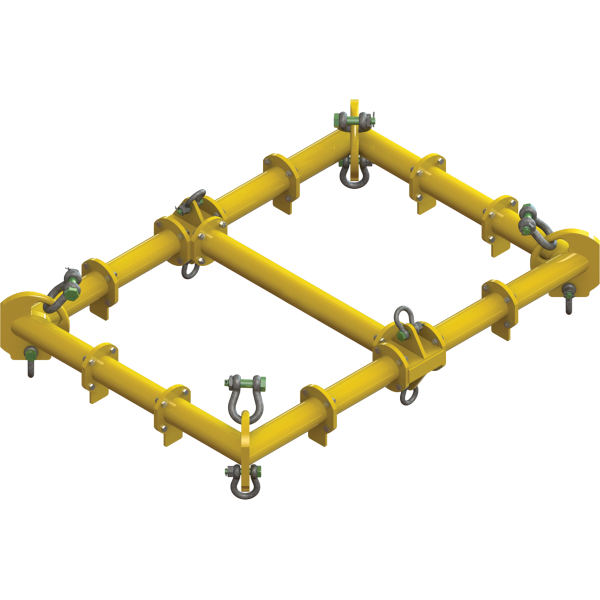 Palonnier cadre écarteur modulaire