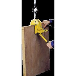 Pince de levage pour panneau bois