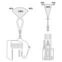 Aimant permanent pour toles fines et tubes (3-15mm)