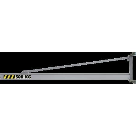 Potence murale triangulée à profil creux (Aluminium)