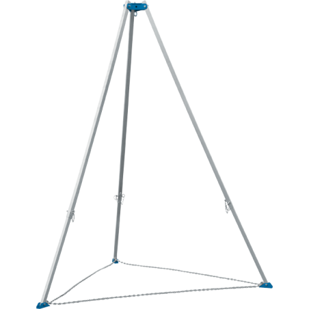 Tripode aluminium pliable