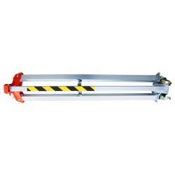 Trépieds de sécurité EN795-B à roulettes - plié