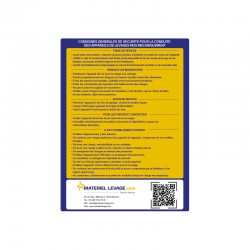 Kit signalétique - instructions