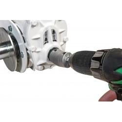 Treuil de levage avec adaptateur pour visseuse/perceuse