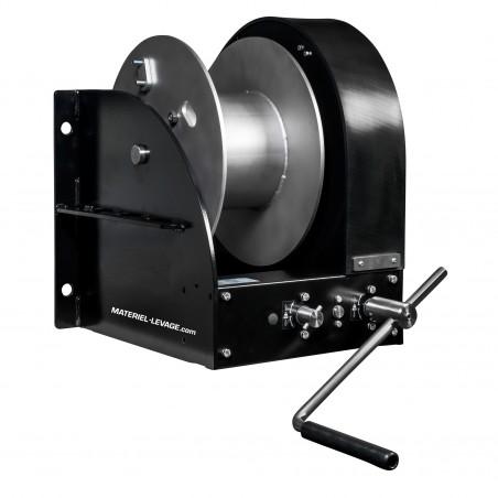 Treuil de levage 2 vitesses à tambour simple (ambiance marine et saline)
