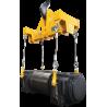 Palonnier de cylindres d'appui