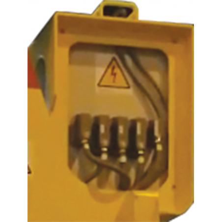 Coffret électrique démontable - Pince à bobine