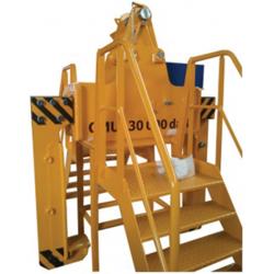 Support de pince avec escalier - Pince à paquet
